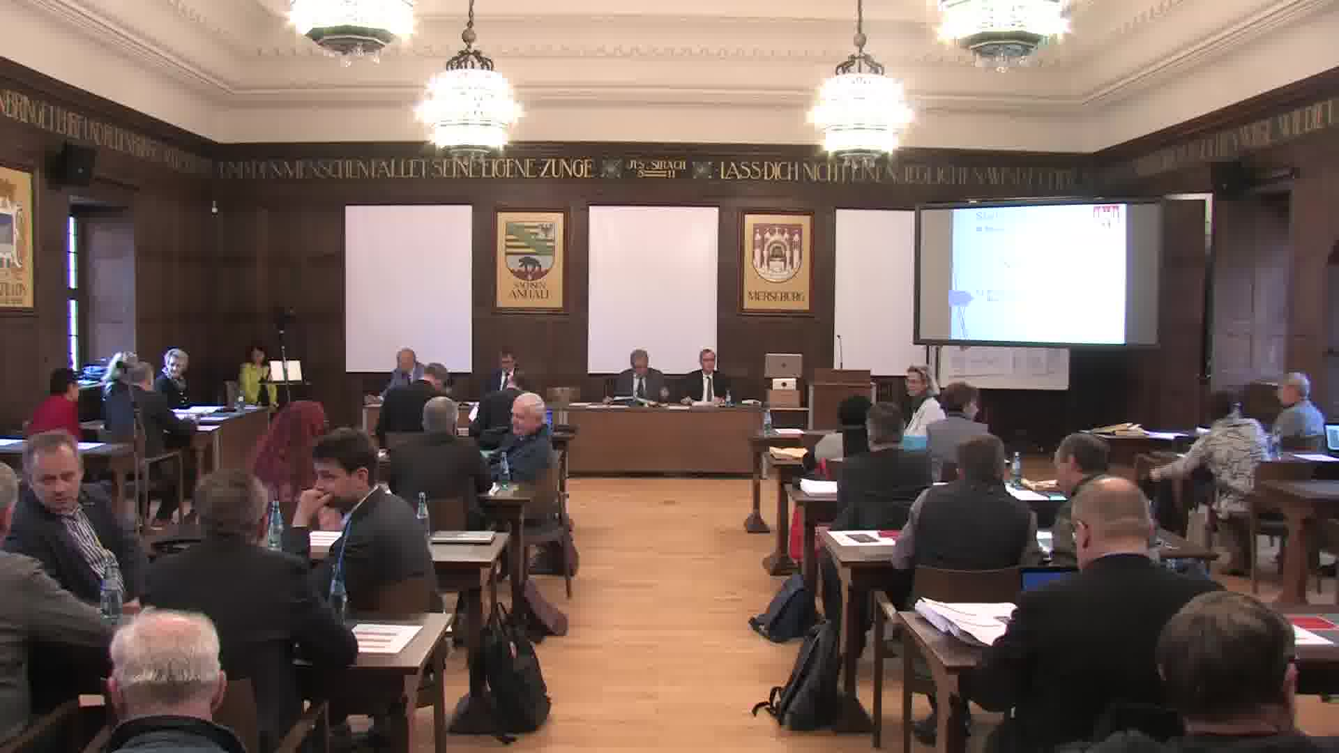28.Sitzung des Merseburger Stadtrates vom 11. April 2019