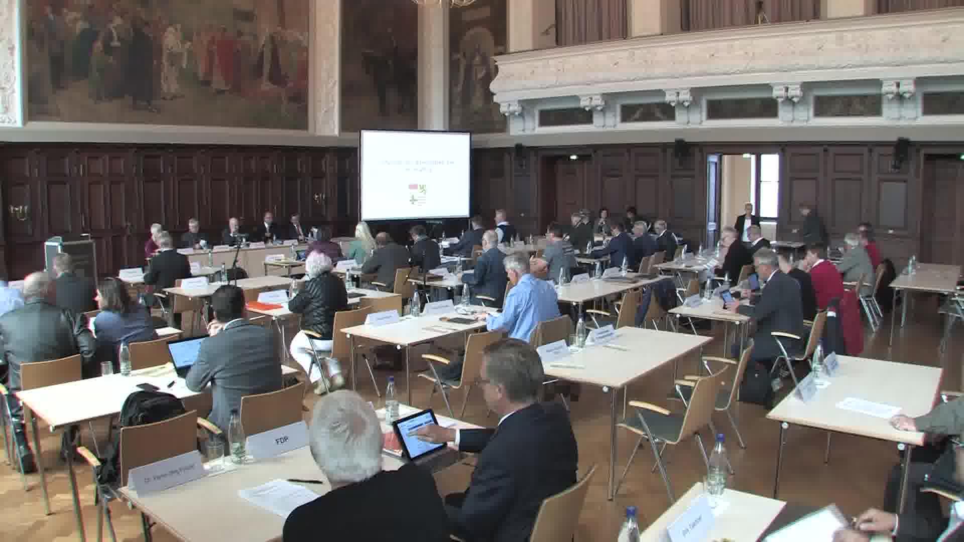 29.Sitzung des Saalekreis Kreistages vom 08. Mai 2019