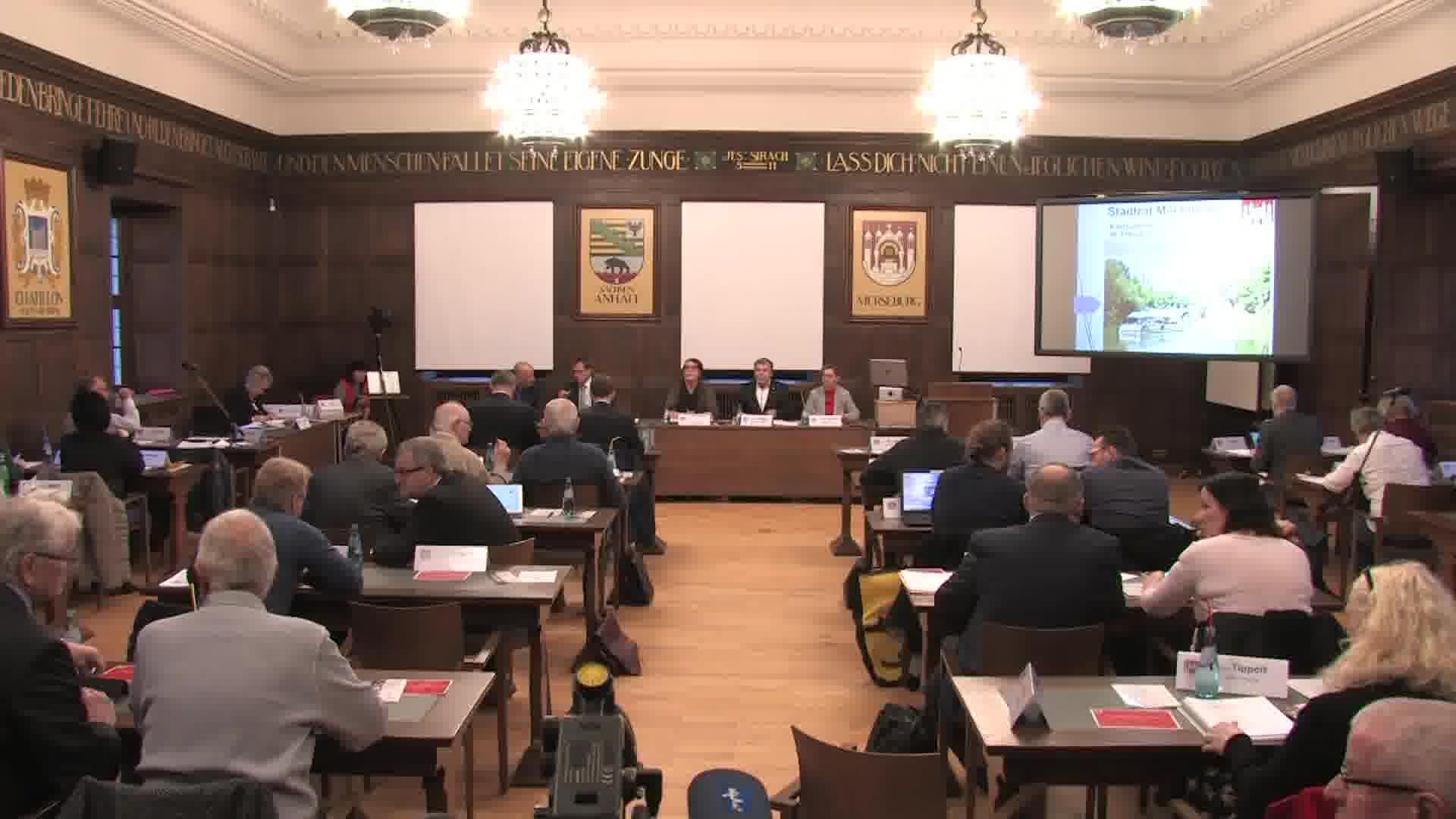 6. Sitzung des Stadtrates Merseburg vom 20. Februar 2020
