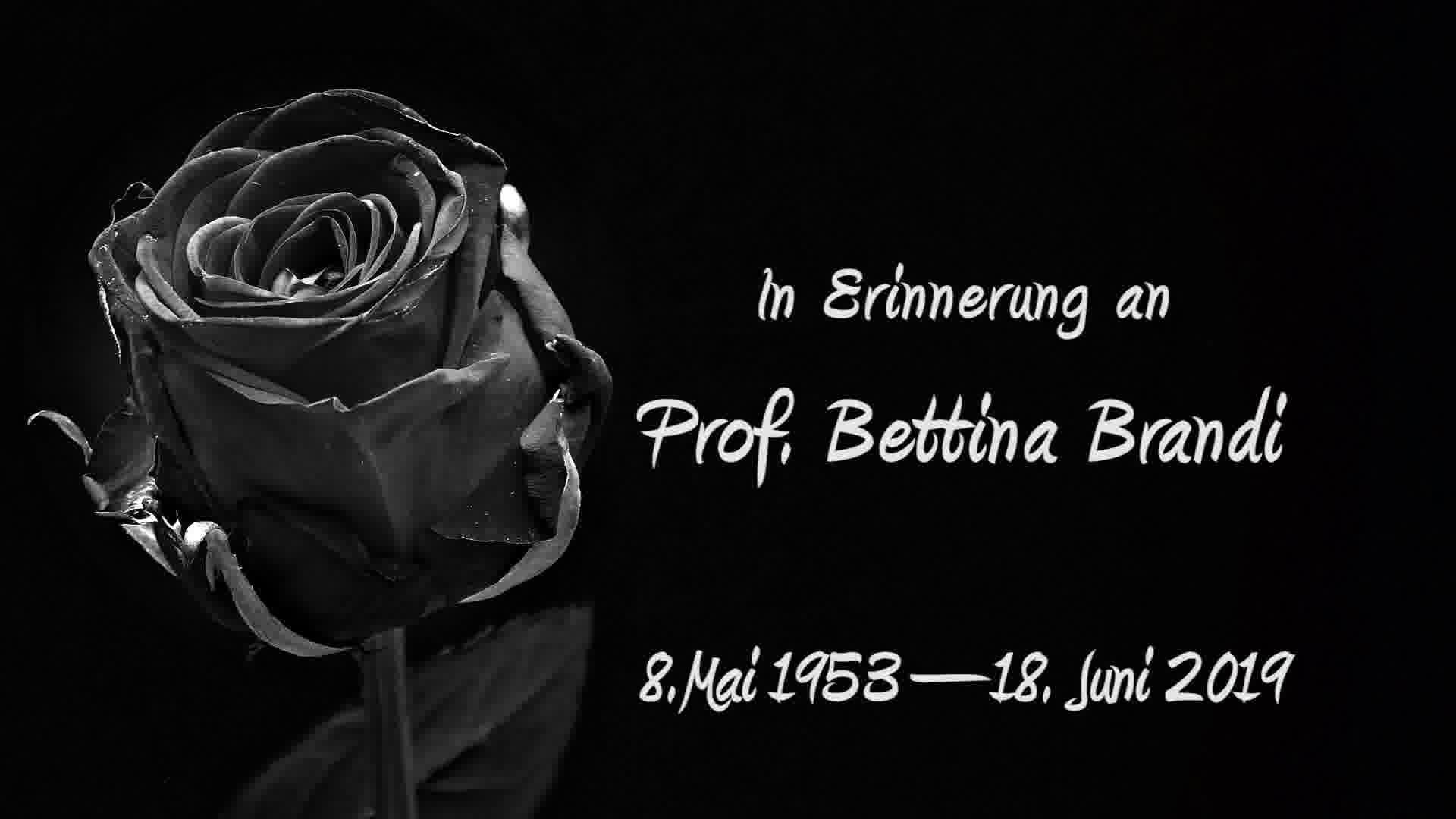 In Erinnerung an Prof. Bettina Brandi  - 20 Jahre TAC