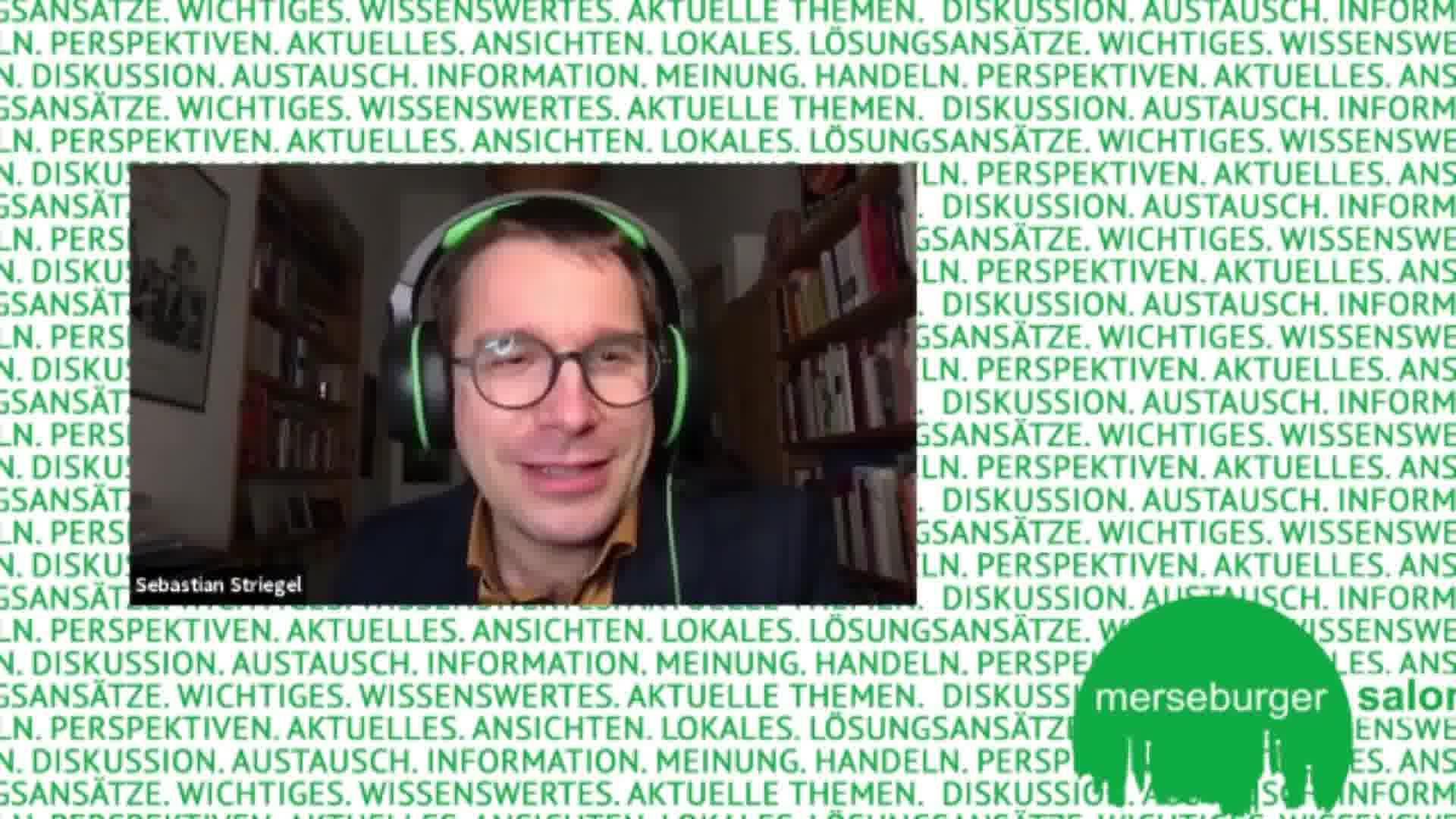 "Merseburger Salon Digital: Ronen Steinke ""Terror gegen Juden"""
