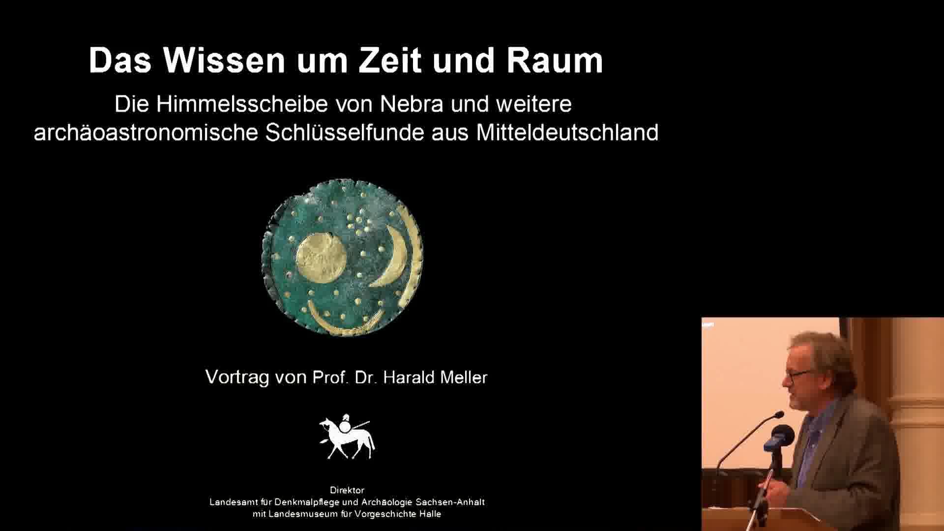 Planetarium 50 Jahre Jubiläum Vortrag von Prof. Dr. Harald Meller