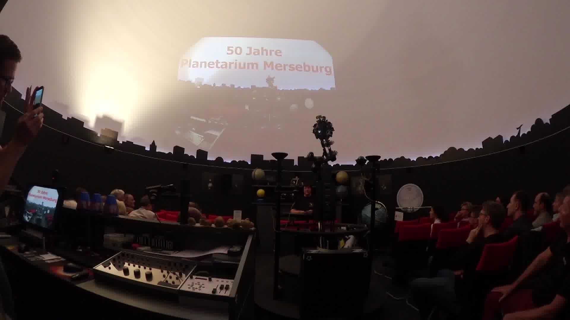 Planetarium Merseburg – 50-jähriges Jubiläum Fachkonferenz