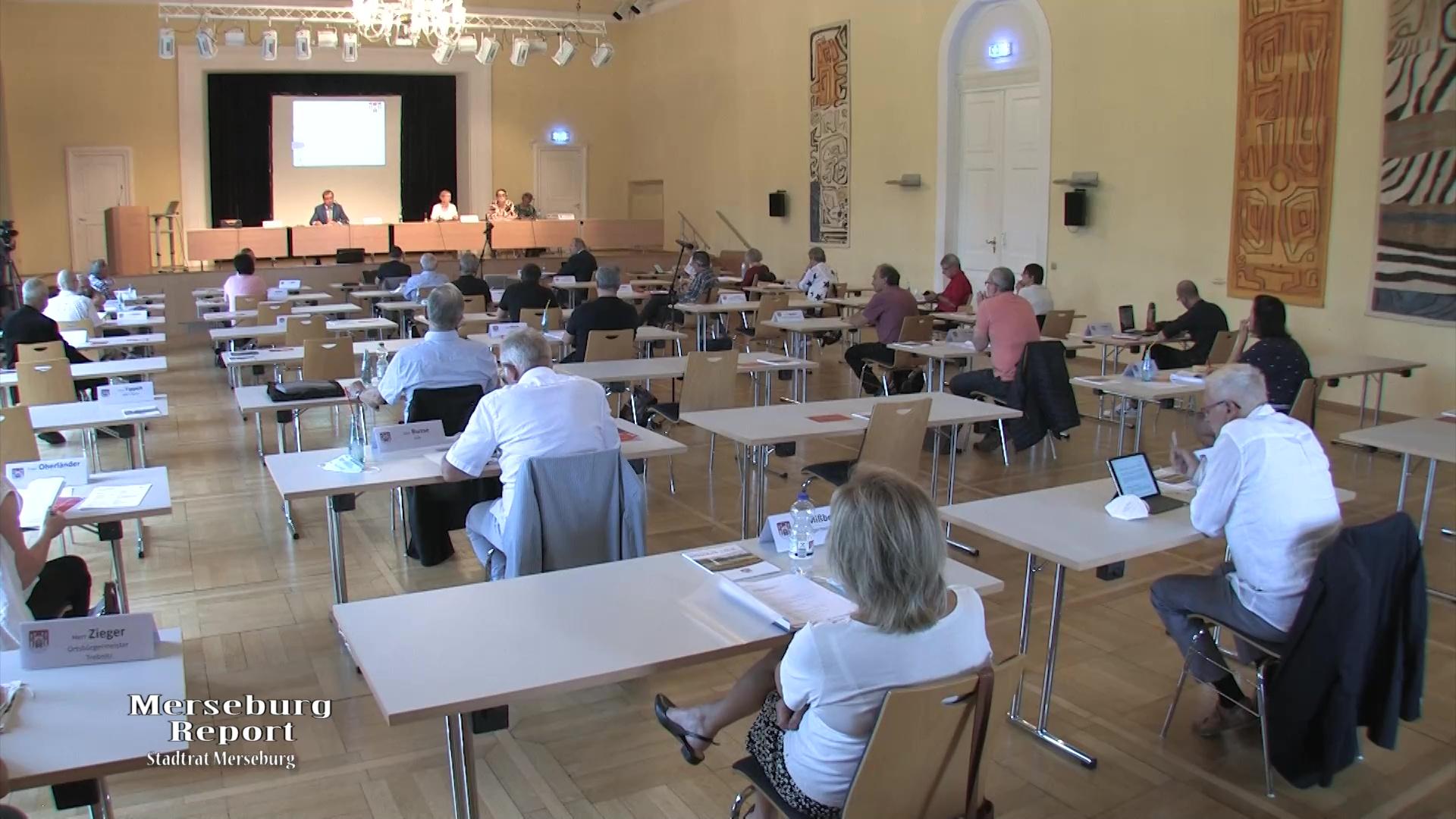 Sitzung des Merseburger Stadtrates vom 15.07.2021