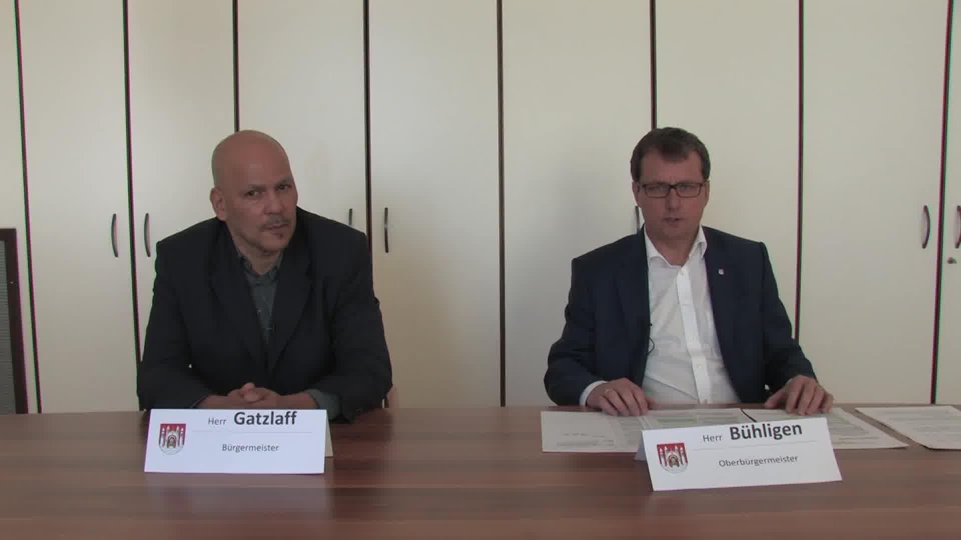 Sondersendung zur Corona Krise Informationen vom OB und Bürgermeister Merseburg und Interview mit Frau Dipl. med. Muchow Leiterin des Gesundheitsamt des Saalekreises