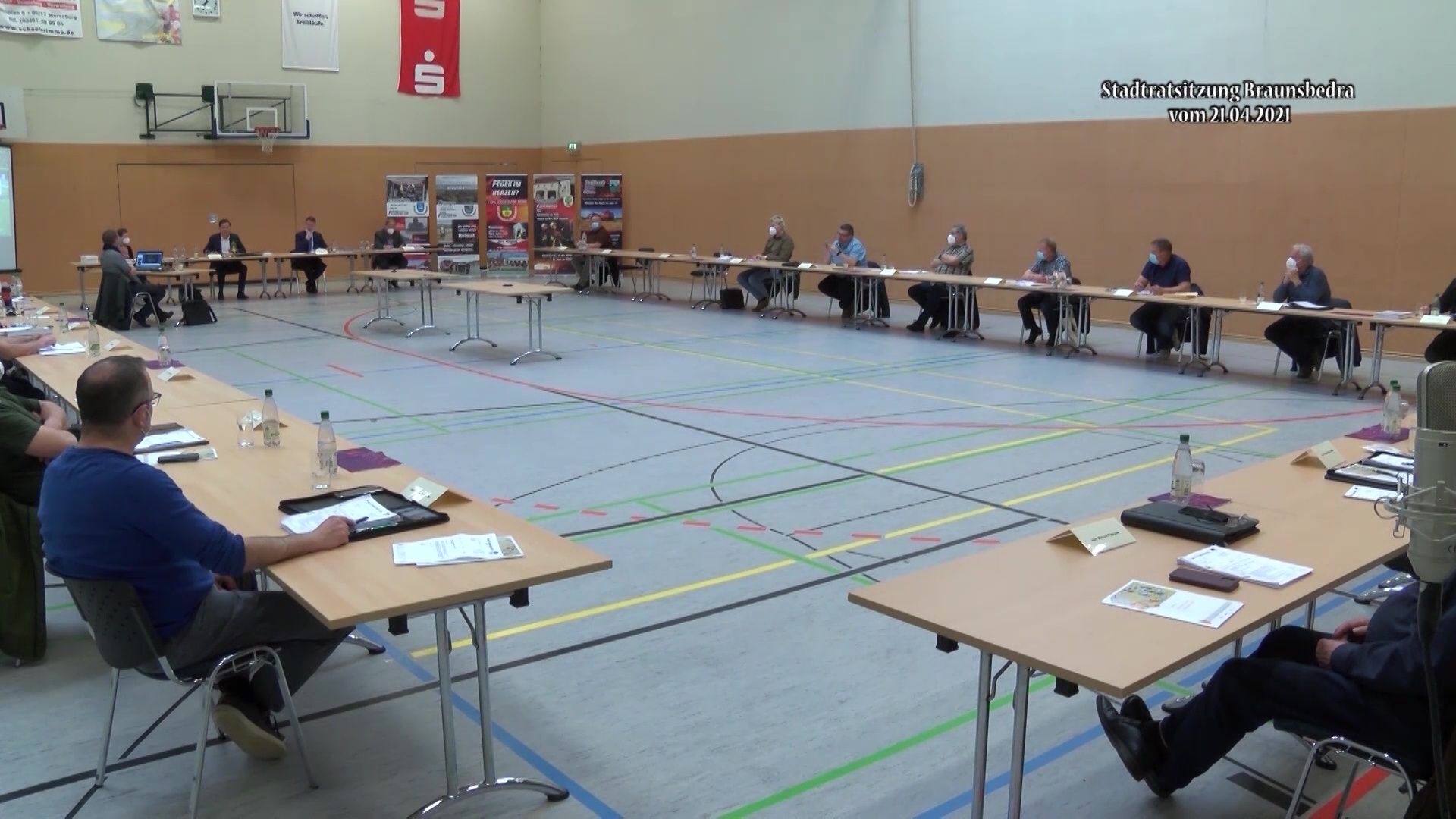 Sitzung des Stadtrates von Braunsbedra vom 21.04.21